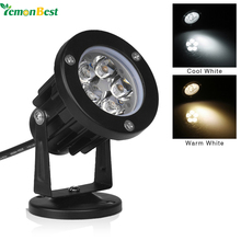 LemonBest Led Lawn light 12V Outdoor lighting Waterproof LED Garden light Wall Yard Path Pond Flood led Spot Light 5W