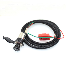 12V Auto Car Power Plug Socket Output 20mm Automatic Cigarette Lighter Ignition Replacement Plug & Socket Assembly(China)