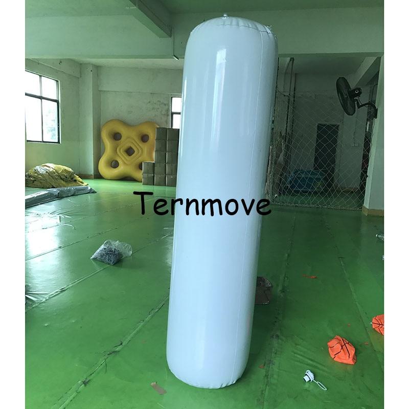Lighting inflatable tube pillar