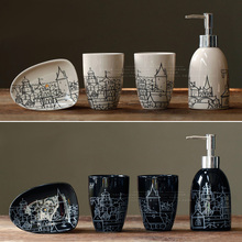 New 2014 ceramic bathroom set,sanitary ware  bathroom accessories,4pcs/lot- free shipping