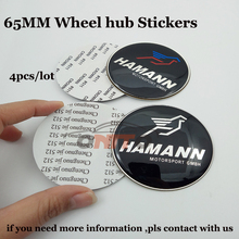 Hot selling 4pcs 65mm Car wheel center hub stickers label Auto accessories car emblem badge For(China)