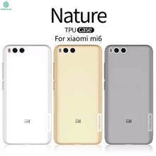 "Buy xiaomi mi6 case xiaomi mi6 cover NILLKIN Nature Transparent Clear TPU Soft Back Cover Case xiaomi mi 6 5.15"" Clear Case for $6.19 in AliExpress store"