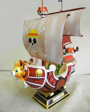 THOUSAND SUNNY Going Merry Pirate Ship One Piece Toy Action Figure 3D Paper Model Collection Luffy Zoro