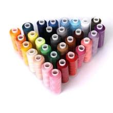 30 катушки 250 двор Ассорти 100% Полиэстер швейные нитки стежка все цели для швейных ниток(China)