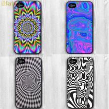 12 Style Mysterious Hard Cell Phone Cover For Apple iPhone 5 Case Psychedelic Design for Apple iPhone 5S 5G