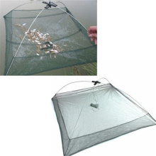 80 x 80cm Fishing For Foldable Mesh Baits Trap Cast Dip Net Crab Shrimp Smelt Eel Lobster Minnows Crawfish Hot Sell