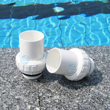 "Swimming pool metric and inch male loose joint 1.5"" and 2 ""pump loose joint sand filter pipe joint"