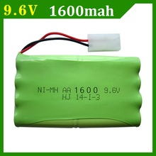 9.6V 1400mah,1600mah,2400mAh Remote Control toy electric lighting lighting security facilities AA battery Ni-MH battery group(China)