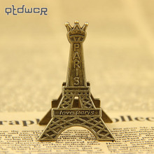 3PCS Paris Eiffel Tower Metal Clips for Message Decoration Photo Office Supplies Accessories(China)