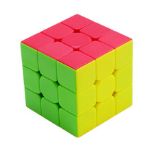 3x3x3 Three Layers Magic Cube Profissional Competition Speed Cubo Anti-sticking Tank Puzzle Magic Cube Cool Toy Boy DW892585
