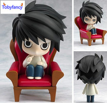 Tobyfancy EATH NOTE Action Figures Nendoroid L Lawliet Anime PVC 100mm Toy Japanese Anime Figures DEATH NOTE Nendoroid Figure