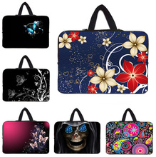"10"" Tablet Waterproof Inner Bags Cases + Handle Waterproof Neoprene Netbook Bag Cover For Lenovo Toshiba Sony Dell 9.7"" 10.1"" PC"
