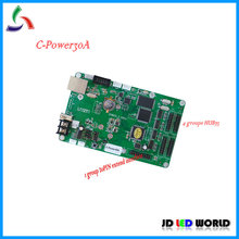 C-power30A lintel RGB full color led screen Bus or car full color led advertising display screen controller card