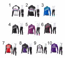 womens inter bike jerseys orbea ropa ciclismo 2018 Cycling Jersey Sets tenue cyclisme outdoor roupas road bike long kits(China)