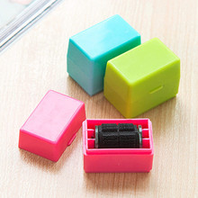 3 Colors Roller Self Inking Stock Stamp Theft Protection Code Confidential Seal Hide ID Garbled Rubber Stamps Use 1pcs(China)