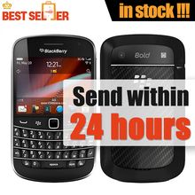 Original 9900 Blackberry Blod Touch 9900 Unlocked 3G cell phones WiFi GPS 5.0MP Camera QWERTY keyboard phone