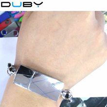 New design wristband bracelet Jewelry Usb flash drive Pen drive Usb memory stick disk USB2.0 8gb16 gb 32 gb 64gb(China)