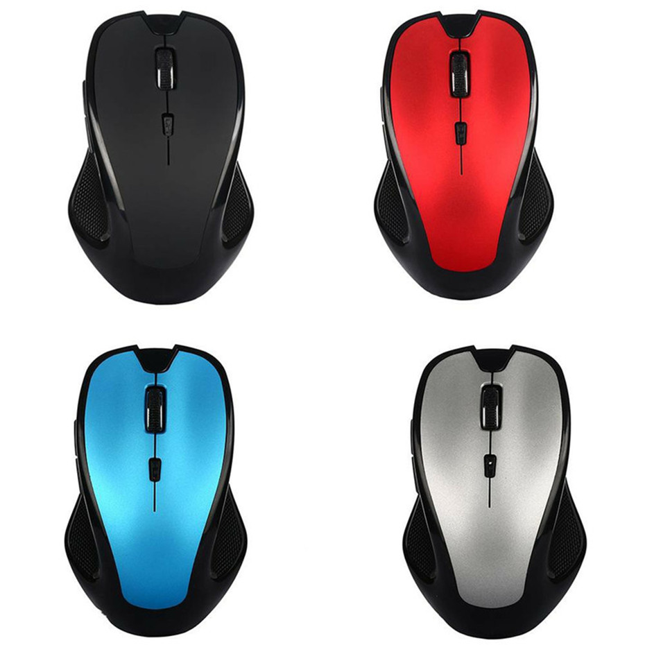 Basix Wireless Gaming Mouse Sem Fio Optical Ergonomic Mice4