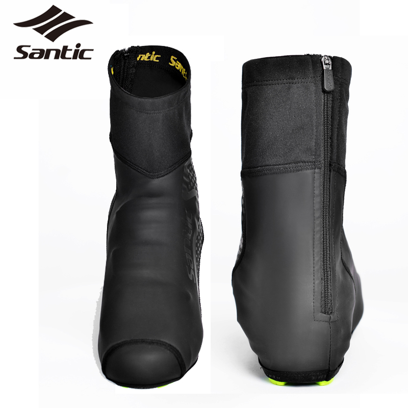 SANTIC Winter Cycling Shoes Cover Thermal Waterproof Fleece Road Bicycle Bike Shoes Cover Men Women Full Overshoes Size 39-44<br><br>Aliexpress