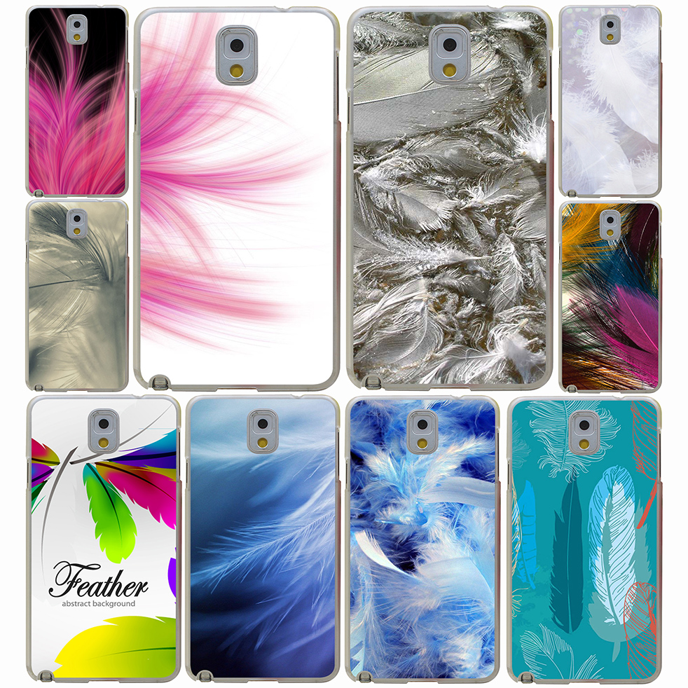 Pu leather case for samsung galaxy a7 2016 a710 peacock feather - Bird Feathers Photos Textures Hard Case Cover For Samsung Galaxy A3 A5 A7 A8 J5 2015