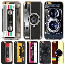 Retro Reminiscence Phone Cover For iPhone 6 6s 5 5s SE TPU Ultra thin Popular Camera Game Machine Designs(China)