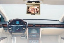 9 inches TFT LCD Flip Down Monitor Car Roof Mounted Monitor Headrest Monitor Auto Ceiling Monitor Overhead Monitor