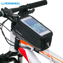 Roswheel MTB Road Bike Bag Touchscreen Bicycle Saddle 5'' 5.7'' Phone Cycling Front Frame Tube Accessories - Sireck Outdoor CO., LTD. store