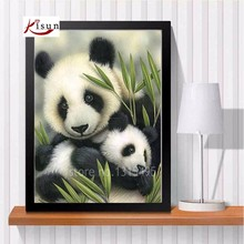 harvest diamond embroidery animals rhinestone painting bead cross stitch mazayka diamond mosaic panda pictures plastic canvas