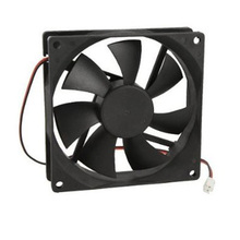 CAA Hot Hot Sale Black Plastic Square 9025 90 x 90 x 25mm DC 12V 0.25A Cooler Fan