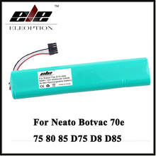 Eleoption 12V 4500mAh NI-MH Replacement battery for Neato Botvac 70e 75 80 85 D75 D8 D85 Vacuum Cleaner battery(China)