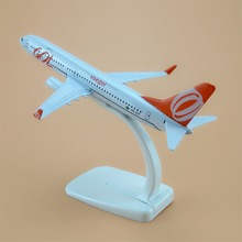 Free Shipping 16cm Alloy Metal Model Plane Brazil Air GOL Airlines B737-800 Airways Aircraft Airplane Boeing 737 Model Baby Gift