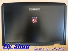 New/Original For MSI GT780DX F730 GT70 GX70 1761 1762 1763 F730 LCD Back Cover E2P-763A411-Y31 307-763A411-Y31