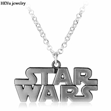 Hot Movie Star Wars Bronze Metal Necklace Alloy Charm Pendant Cosplay Accessories Jewelry Gift for men women gift Star Wars