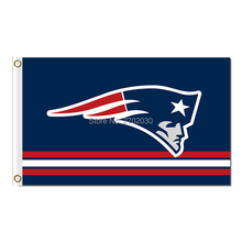 New England Patriots Flag Custom Football Team 3ft X 5ft World Series Super Bowl Champions Patriots Banner Red Stripes(China)