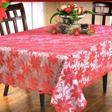 Christmas Classical American Style Table Cloth Personalized Home Party Decoration Christmas Tablecloth Round Rectangle(China)
