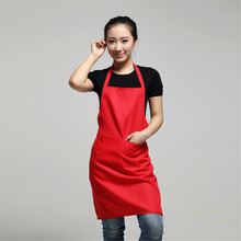 2017 Hot work apron kitchen dining promotional aprons housewife essential supplies free shipping DN833(China)
