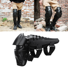 Motorcycle Kneepad Knee guard Pads Breathable Kneelet Brace Shin Guards Protective Armor Motocross Protection Racing Moto Gear(China)