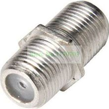 200 pcs  UK F-Type Satellite Coupler Cable Coaxial Connectors Pair F to F Adapter For Satellite, TV - Join - Coupler - Extend