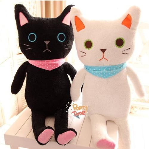 Lolita Plush Kitty 85cm Cute Soft Lop Cat Plush Couple Kitty Princess Sweet Doll Loppy Kitty Childrens Gift<br>