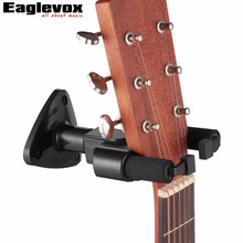 Guitar Hanger Hook Holder Wall Mount Stand Rack Bracket Display For All Size Guitars Bass MH20(Hong Kong)