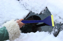 Portable Car Vehicle Durable Snow Brush Shovel Ice Scraper For Car Truck Car Accessories Clean Broom Shovel #4DQ(China)