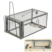 Multi-catch Reusable Sensetive Rodent Control Rat Cage Mouse Live Hunting Trap(China)