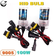 New 9005 100W 12V Car Styling HID Xenon Bulb Headlight Lamp Auto Motorcycle Light Source 4300K-10000K For VW BMW Replacement