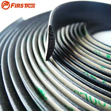 5 Meters Waterproof 3M Rubber Sealed Strips Trim For Auto Car Front Rear Windshield Sunroof Triangular Window(China)