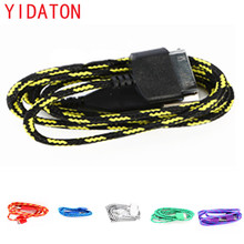 YIDATON Cell Phone Braided Fabric USB Data Sync Charger Cable Top Quality Charging Cord For iPhone 4s 4