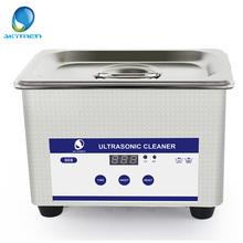 Digital Ultrasonic Cleaning Transducer Baskets Jewelry Watches Dental CD 0.8L 35W 40kHz Ultrasound Cleaner Mini Ultrasonic Bath(China)