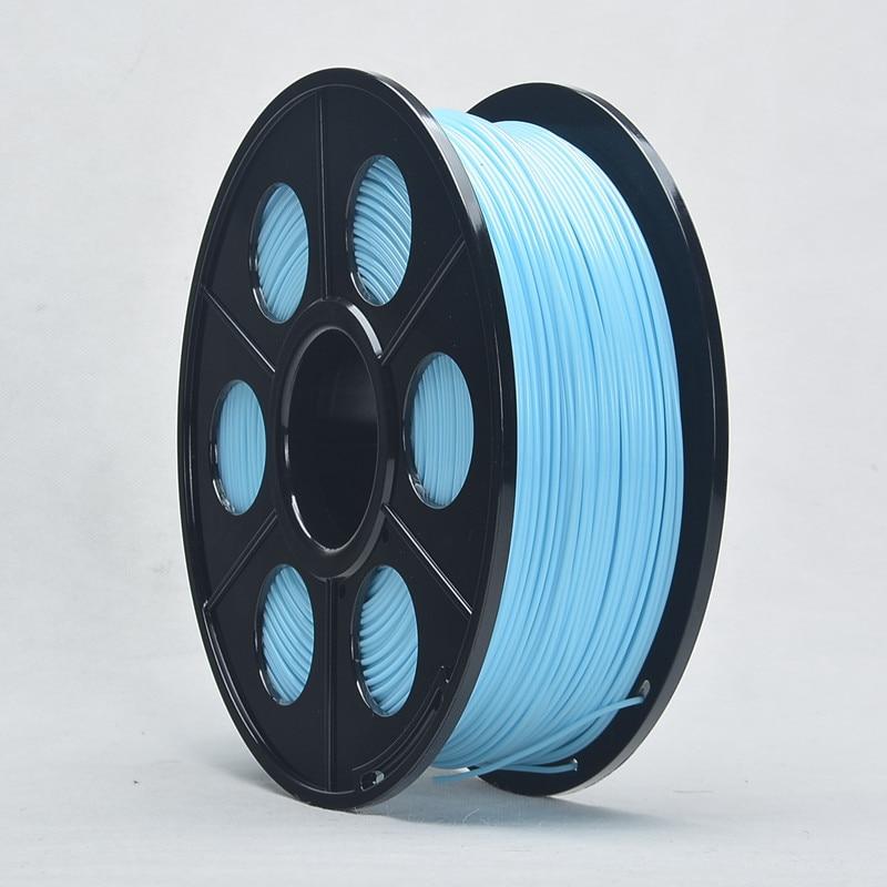 Hot Sale ABS Filament 1.75mm 3D Printing Material for 3d Impressora Extruder Printer Parts Cyan Color Dont Jam Nozzle<br><br>Aliexpress
