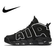 watch 5df0b 13d2a Originele Authentieke Nike Max Air Meer Uptempo heren Ademend Basketbal  Schoenen Sport Sneakers Outdoor Medium Cut