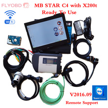 MB SD CONNECT C4 Star Diagnosis System with Vediamo 03/2017 HDD with X200T Diagnostic PC for MB STAR C4 Xentry Diagnostics Tool