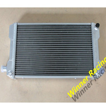 Good radiator hold your car styling ALUMINUM ALLOY RADIATOR For MG MIDGET 1500 MT 74-80 DUAL CORE 40MM HIGH PERFORMANCE